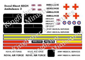 Ambulance Markings Set 3